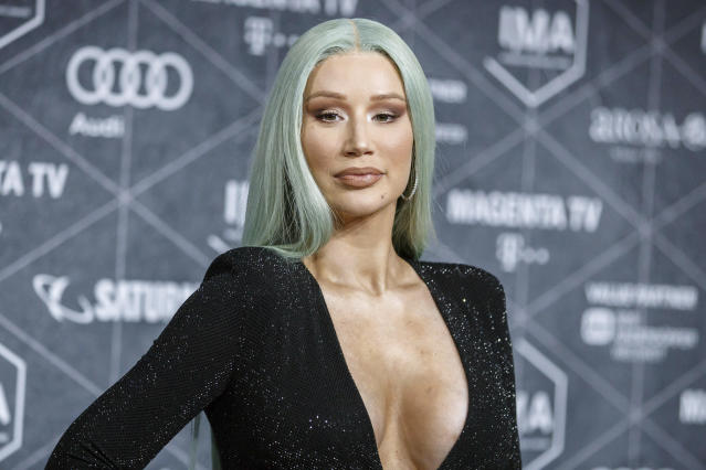 Iggy Azalea at the International Music Awards 2019 at the Verti Music Hall in Berlin, Germany.