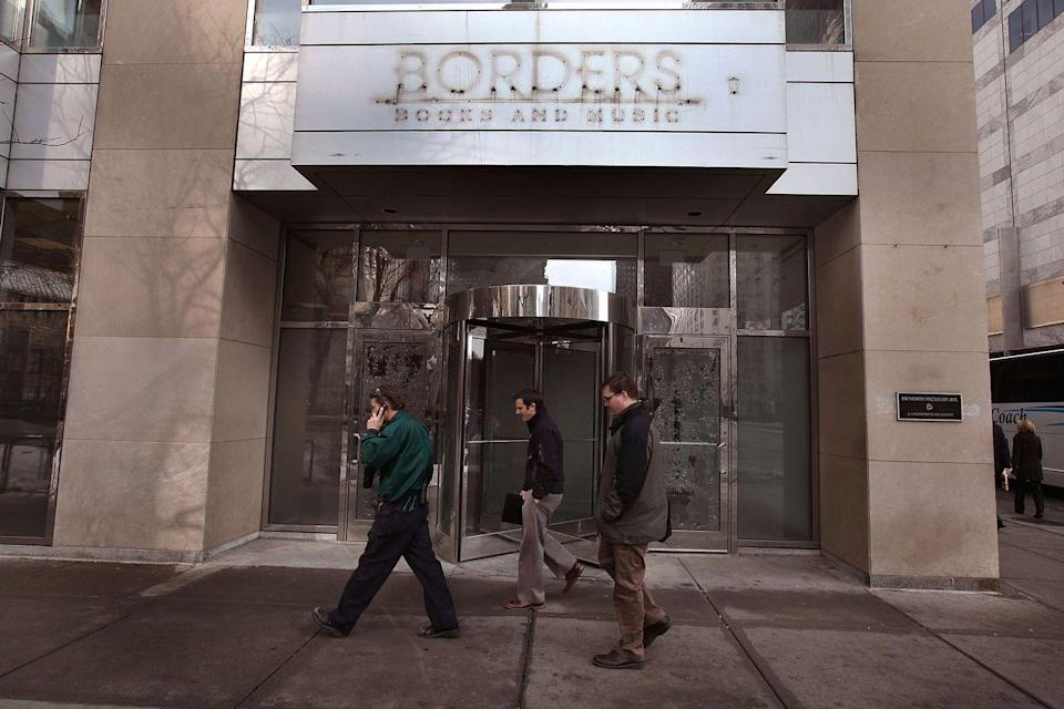 <p>Hands up if you and your friends just, like, hung around at Borders doing nothing when you were teenagers? Same, hard same. Sadly, now your hangout spot is gone forever because of bankruptcy—probably thanks to a company I won't bother @'ing (it rhymes with shmamazon).</p>
