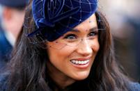 """<p>She told <em><a href=""""https://www.allure.com/story/meghan-markle-suits-beauty-tips"""" rel=""""nofollow noopener"""" target=""""_blank"""" data-ylk=""""slk:Allure"""" class=""""link rapid-noclick-resp"""">Allure</a></em> in 2017, """"The one thing that I cannot live without when I'm traveling is a small container of tea tree oil. It's not the most glamorous thing, but if you get a cut, a mosquito bite, a small breakout, no matter what it is, it's my little cure-all. It's inexpensive, it's small enough to carry on, and I bring it with me all the time.""""</p>"""
