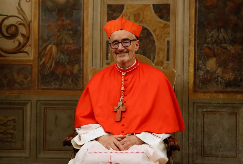 FILE PHOTO: 13 new cardinals attend a consistory ceremony at the Vatican