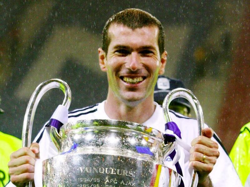 Zidane has won the Champions League as a player, assistant and manager with Madrid (Getty)