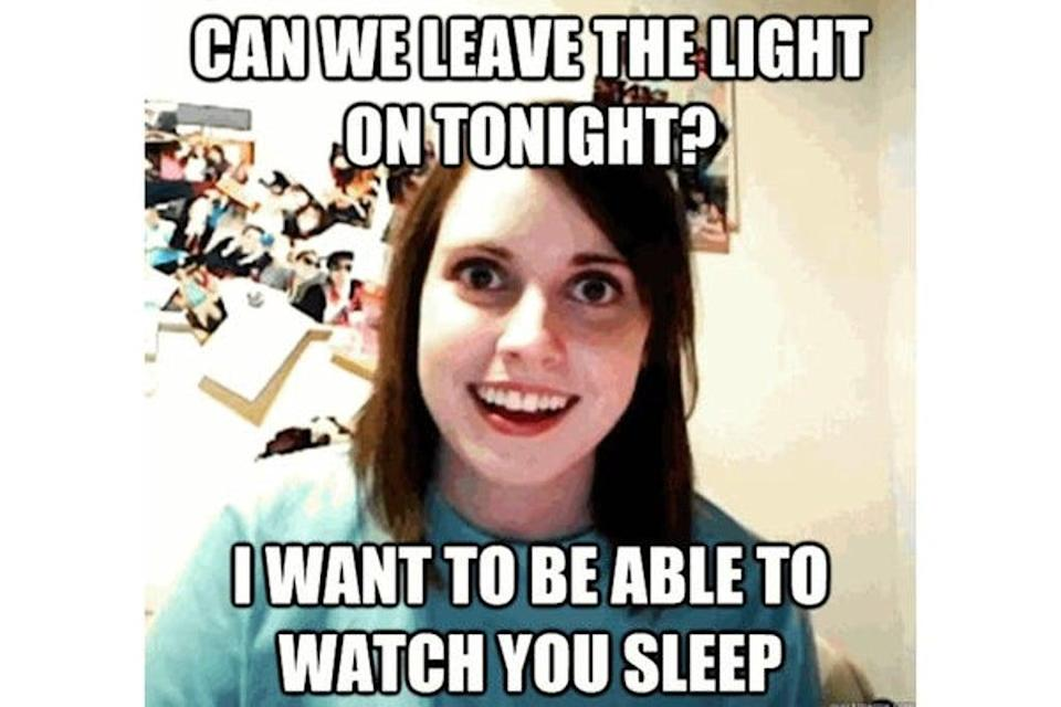 The Overly Attached Girlfriend meme has also sold for $411,000 (£300, 700). (Twitter)
