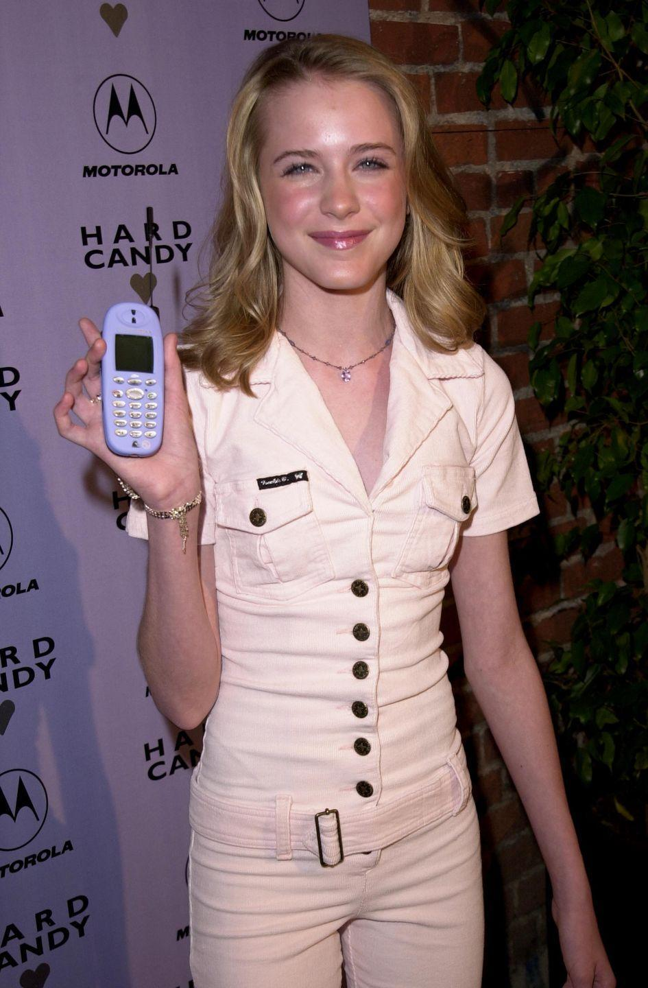<p>This was at a party commemorating the Motorola-Hard Candy phone because that's a thing that could happen before 9/11.</p>