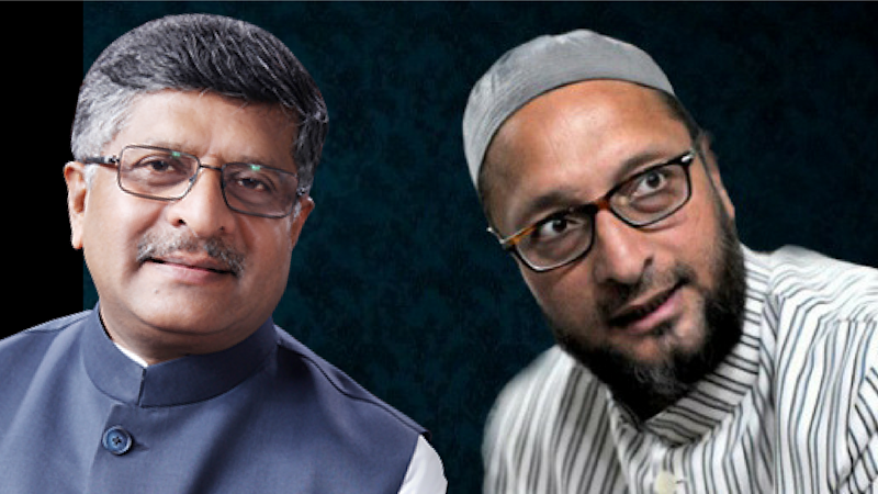 "Owaisi Slams RS Prasad for Saying Govt Gives ""Sanctity"" to Muslims"