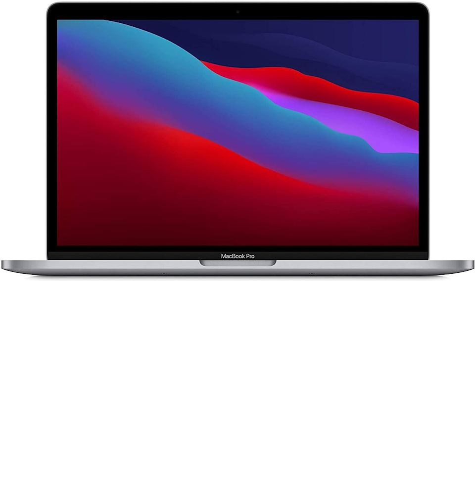 """<p><strong>Apple</strong></p><p>amazon.com</p><p><strong>$1199.00</strong></p><p><a href=""""https://www.amazon.com/dp/B08N5N6RSS?tag=syn-yahoo-20&ascsubtag=%5Bartid%7C10054.g.36665206%5Bsrc%7Cyahoo-us"""" rel=""""nofollow noopener"""" target=""""_blank"""" data-ylk=""""slk:Buy"""" class=""""link rapid-noclick-resp"""">Buy</a></p><p><del>$1,299.00</del> <strong>(8% off)</strong></p><p>And a few more bucks jumped ship on the Macbook Pro's list price, too—the 256GB version as well as the 512GB version.</p>"""