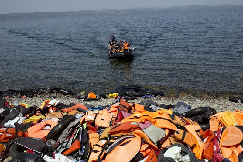 Greece was the leading landing spot for migrants to Europe in 2015, with 816,752 arriving by sea from Turkey, according to the UNHCR (AFP Photo/Angelos Tzortzinis)