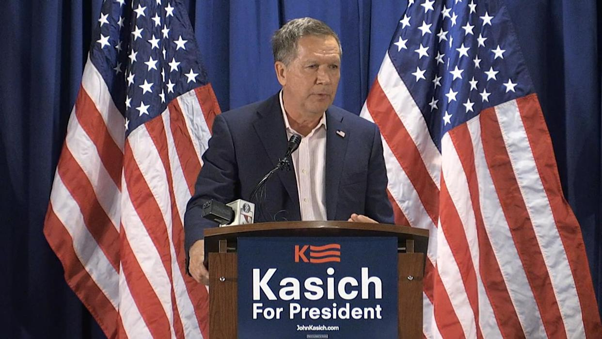 Kasich: America's Strength Is Not in Politicians