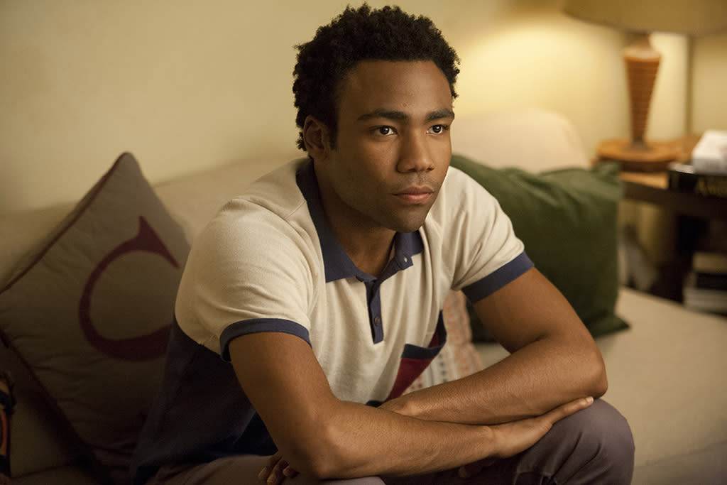 "Donald Glover in the ""Girls"" Season 2 episode, ""I Get Ideas."""