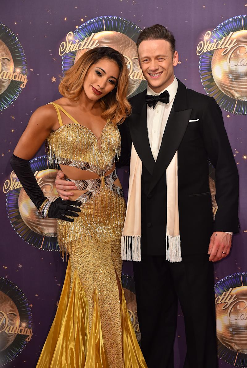 <strong>Karen and Kevin Clifton</strong> (PA Archive/PA Images)