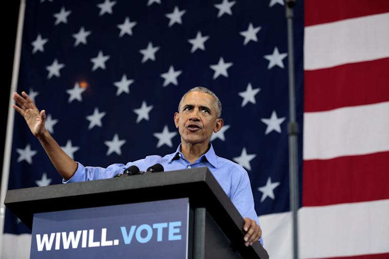 """We do not need more mealy-mouthed elected officials who claim they are disappointed by this bad behavior and then don't do anything about it and just go along with it,"" Obama said at a Wisconsin campaign rally. (Photo: Reuters)"