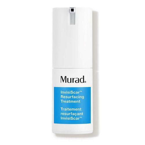 """<p><strong>Murad</strong></p><p>dermstore.com</p><p><strong>$36.00</strong></p><p><a href=""""https://go.redirectingat.com?id=74968X1596630&url=https%3A%2F%2Fwww.dermstore.com%2Fproduct_InvisiScar%2BResurfacing%2BTreatment_80572.htm&sref=https%3A%2F%2Fwww.oprahdaily.com%2Fbeauty%2Fg36792186%2Fbest-products-for-acne-scars%2F"""" rel=""""nofollow noopener"""" target=""""_blank"""" data-ylk=""""slk:Shop Now"""" class=""""link rapid-noclick-resp"""">Shop Now</a></p><p>A unique product that combines salicylic acid with potent antioxidants that fade discoloration and brighten skin. This leave-on also contains purified TECA centella asiatica, a barrier-repairing ingredient that can help to visibly improve skin's texture. Plus, light-reflecting powders and blurring ingredients instantly minimize the look of pitted scars. </p>"""