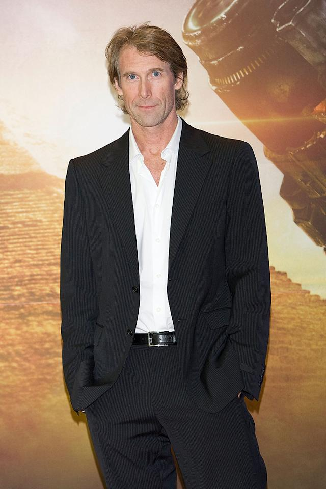 "<a href=""http://movies.yahoo.com/movie/contributor/1800020334"">Michael Bay</a> at the Korean press conference for <a href=""http://movies.yahoo.com/movie/1809943432/info"">Transformers: Revenge of the Fallen</a> - 06/10/2009"