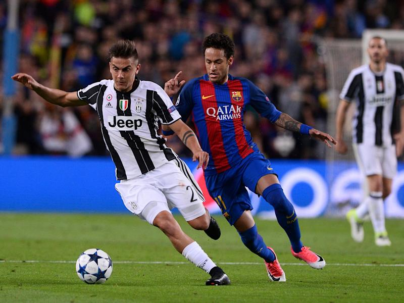 There looks to be little chance of Dybala joining Neymar at Barcelona: Getty