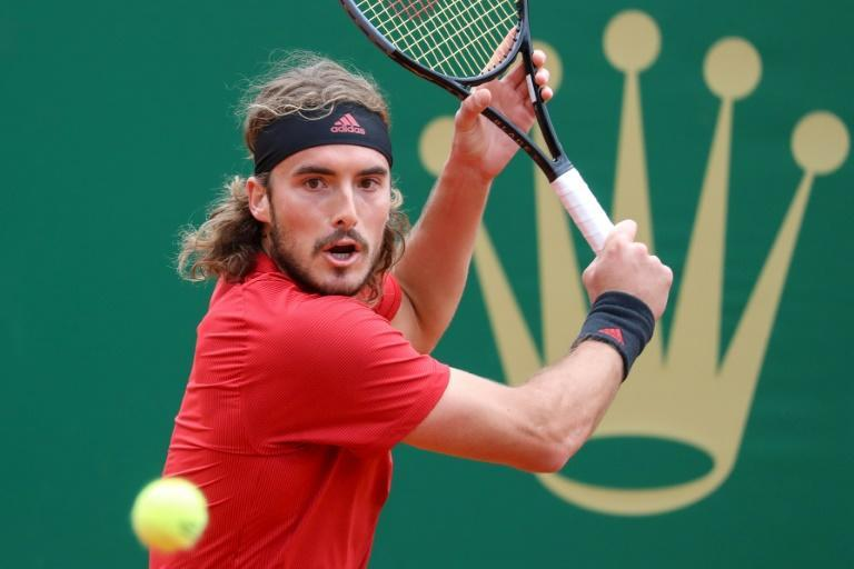 Moving on: Stefanos Tsitsipas needed one set to eliminate Alejandro Davidovich in Monte Carlo