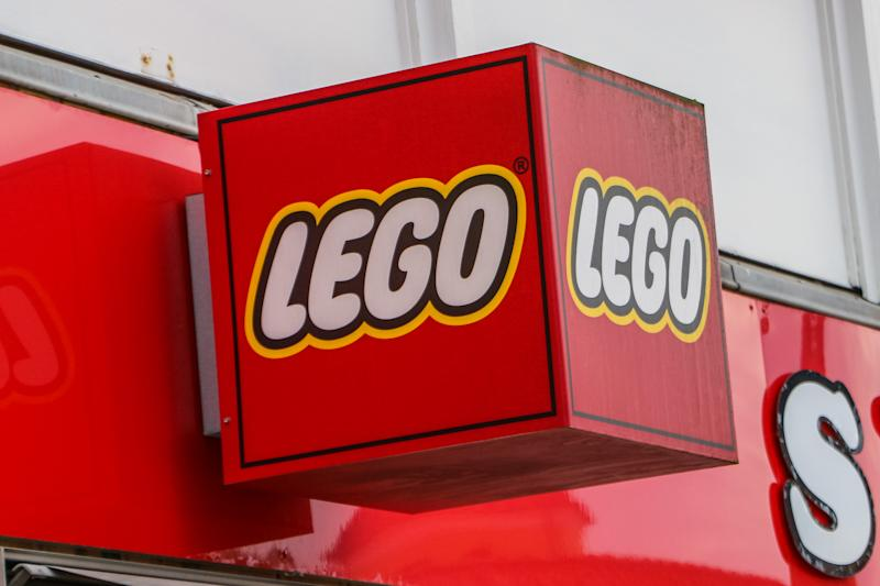Lego Skagen Toys shop is seen in Skagen, Denmark on 28 July 2019 Skagen is Denmark's northernmost town, on the east coast of the Skagen Odde peninsula in the far north of Jutland. (Photo by Michal Fludra/NurPhoto via Getty Images)