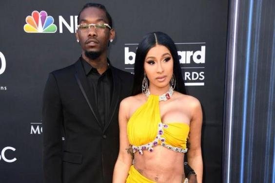 Offset and Cardi B at the Billboard Music Awards (Getty Images)