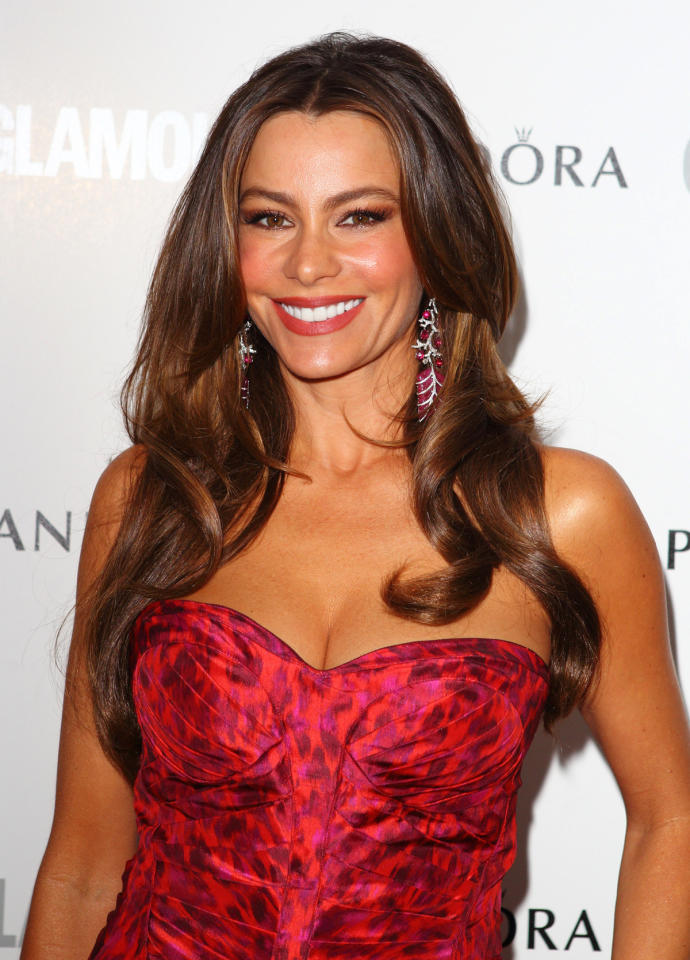 Sofia Vergara attends Glamour Women of the Year Awards 2012 at Berkeley Square Gardens on May 29, 2012 in London, England.  (Photo by Mike Marsland/WireImage)