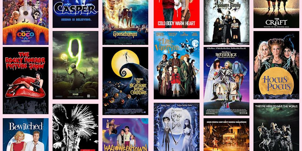 """<p>There's nothing like celebrating the ~spooky season~ by snuggling up on the couch with friends and a big bucket of popcorn and diving into all of <a href=""""https://www.seventeen.com/life/g1558/best-halloween-movies/"""" rel=""""nofollow noopener"""" target=""""_blank"""" data-ylk=""""slk:the Halloween classics"""" class=""""link rapid-noclick-resp"""">the Halloween classics</a>. But, if horror movies aren't your thing, picking a flick to get you into the fall mood can seem pretty difficult. Basically every <a href=""""https://www.seventeen.com/celebrity/movies-tv/a25158/best-halloween-disney-channel-original-movies/"""" rel=""""nofollow noopener"""" target=""""_blank"""" data-ylk=""""slk:Halloween movie"""" class=""""link rapid-noclick-resp"""">Halloween movie</a> was created to scare the socks off you, but spending a night awake after watching one may not really sound appealing. So, if you don't like scary movies, but you still want to enjoy <a href=""""https://www.seventeen.com/celebrity/movies-tv/a22666982/freeform-31-nights-of-halloween-schedule/"""" rel=""""nofollow noopener"""" target=""""_blank"""" data-ylk=""""slk:a Halloween-themed movie night"""" class=""""link rapid-noclick-resp"""">a Halloween-themed movie night </a>with your pals, check out these 20 non-scary Halloween movies that will get you ready to trick-or-treat, without scaring you half to death. </p>"""