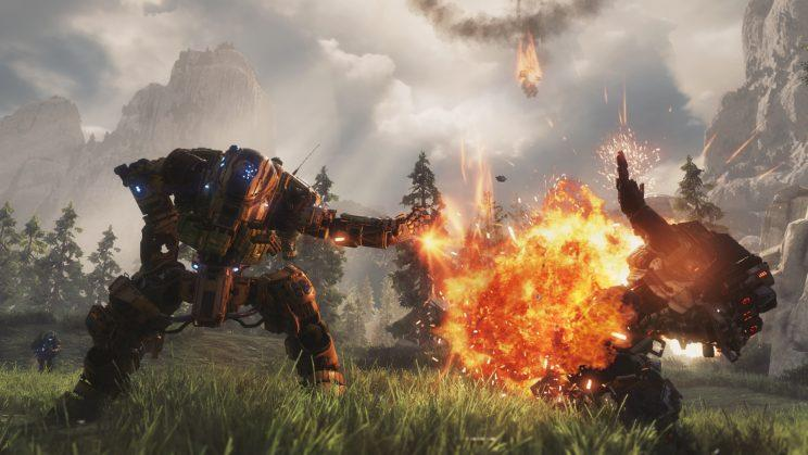 Titanfall 2 explosions
