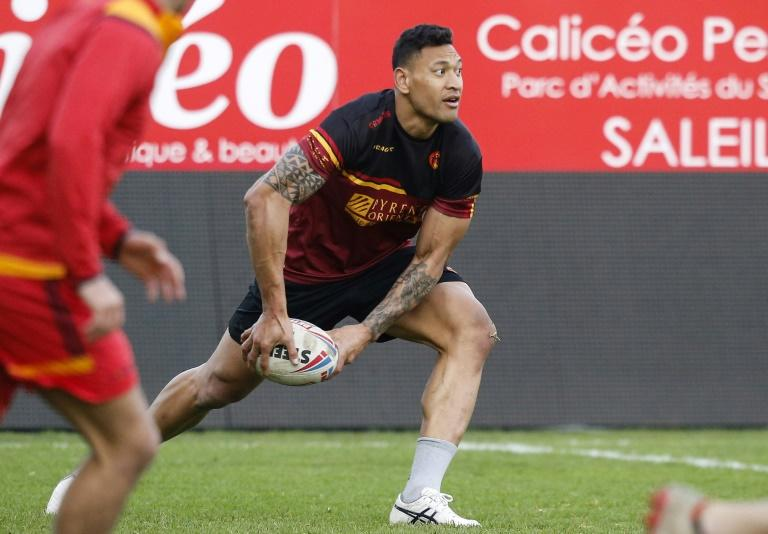 Israel Folau to make Catalans Dragons debut against Castleford