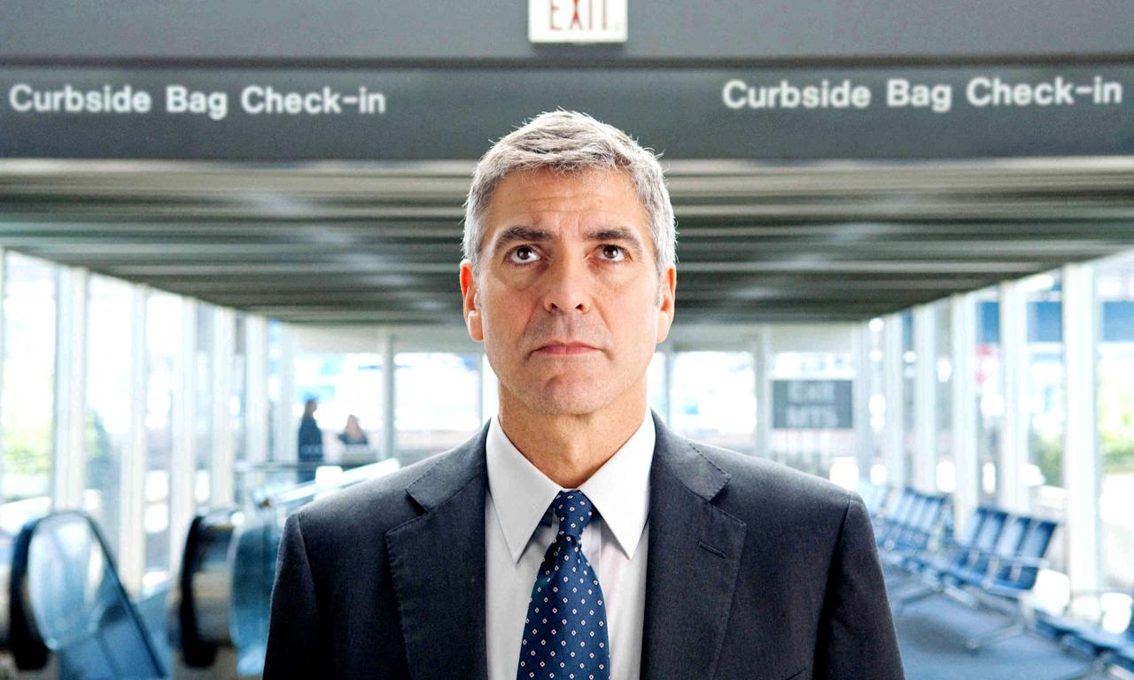 """Follow George Clooney, an obsessive frequent flyer and <a href=""""https://www.cntraveler.com/story/how-to-make-the-most-of-a-solo-business-trip?mbid=synd_yahoo_rss"""" target=""""_blank"""">business traveler</a>, on the verge of reaching 10 million airline miles. With Anna Kendrick playing Natalie, a new employee threatening to digitize Clooney's way of life, and Vera Farmiga as Alex, another exec addicted to life on the road, the movie seamlessly weaves our love of travel and interpersonal connection with the absolute exhaustion of it all."""