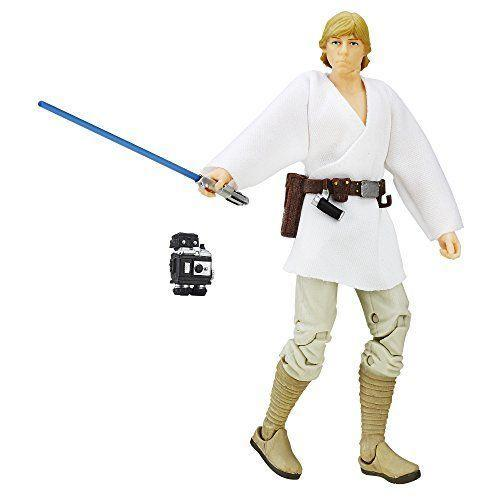 """<p><strong>Hasbro</strong></p><p>amazon.com</p><p><strong>$34.99</strong></p><p><a href=""""https://www.amazon.com/dp/B010B93PEW?tag=syn-yahoo-20&ascsubtag=%5Bartid%7C10055.g.29624061%5Bsrc%7Cyahoo-us"""" rel=""""nofollow noopener"""" target=""""_blank"""" data-ylk=""""slk:Shop Now"""" class=""""link rapid-noclick-resp"""">Shop Now</a></p><p>For serious toy collectors, there's no better toy line than the <em>Star Wars</em> <a href=""""https://hasbropulse.com/collections/star-wars-the-black-series"""" rel=""""nofollow noopener"""" target=""""_blank"""" data-ylk=""""slk:Black Series"""" class=""""link rapid-noclick-resp"""">Black Series</a>, which features extra detail and points of articulation. New figures are being released all the time, with Grief Karga, Trapper Wolf, Han Solo and Greedo coming soon. <em>Ages 4+</em></p>"""