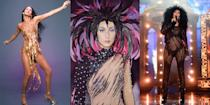 <p>From her early days on <em>Sonny and Cher</em> to her wildest, boundary-breaking Bob Mackie looks, Cher has always been a style icon in a league of her own. As the living legend turns 74 years old today, we're turning back time to some of her best fashion moments spanning over her six-decade-long career. </p>