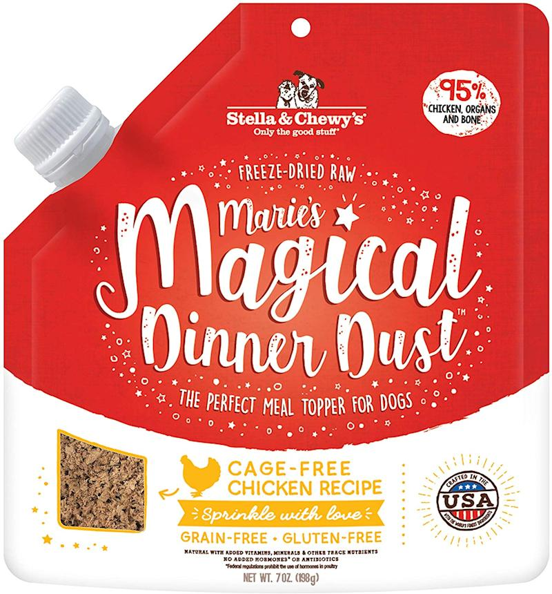 Stella & Chewy's Magical Dinner Dust. (Photo: Amazon)