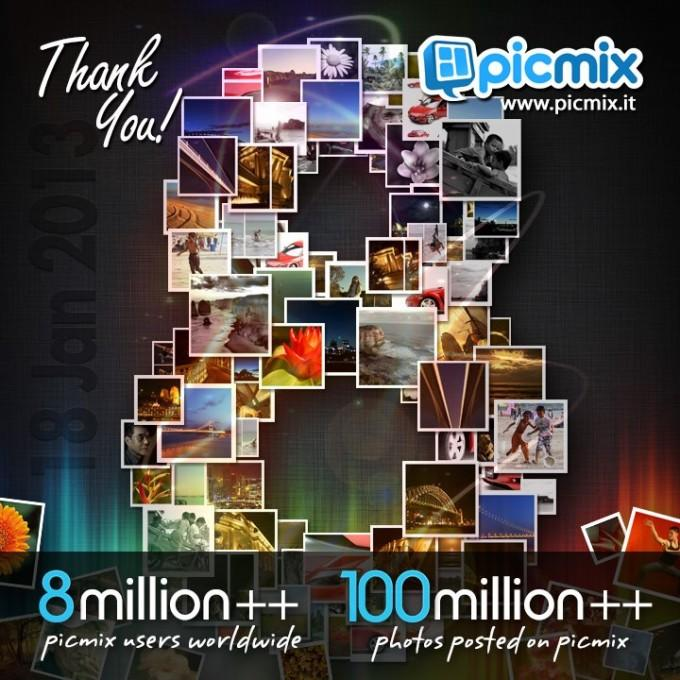 Viral Global News Viralglobalnews: Photo App PicMix Goes Viral And Passes 8 Million Users