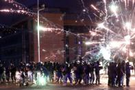 FILE PHOTO: Anti-government protests after Beirut blast