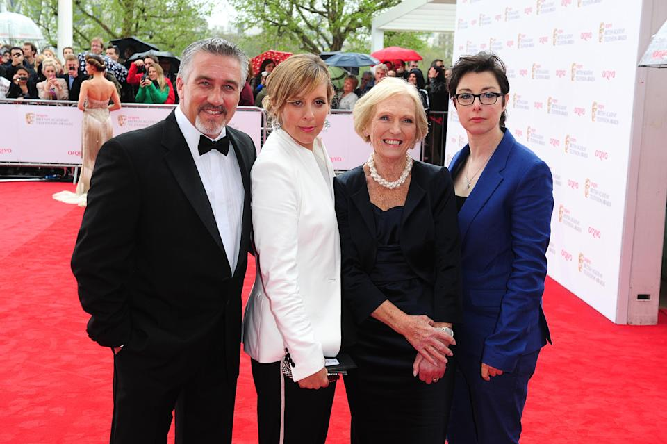 Paul Hollywood, Mel Giedroyc, Mary Berry and Sue Perkins (Credit: Ian West/PA)
