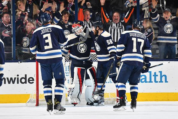 Blue Jackets beat Oilers for 16th straight win