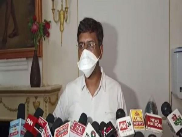 Indore collector Manish Singh (Photo: ANI)