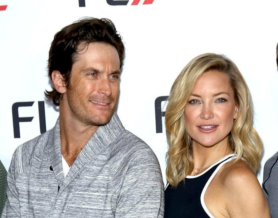 NEW YORK, NY - JUNE 04:  Oliver Hudson and FABLETICS Co-Founder Kate Hudson attend FL2 Launch at Gramercy Terrace at The Gramercy Park Hotel on June 4, 2015 in New York City.  (Photo by Paul Zimmerman/WireImage)