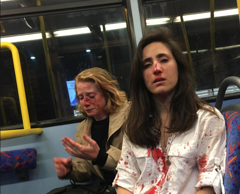 Teens admit to threatening lesbian couple in London