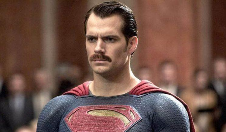 Henry Cavill's moustache is causing problems for Justice League - Credit: Twitter