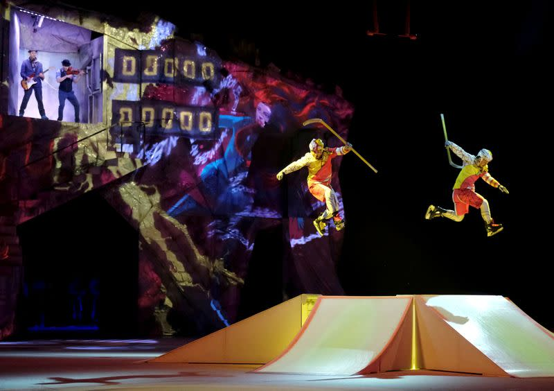 Cirque du Soleil files for bankruptcy protection as COVID-19 cancels shows