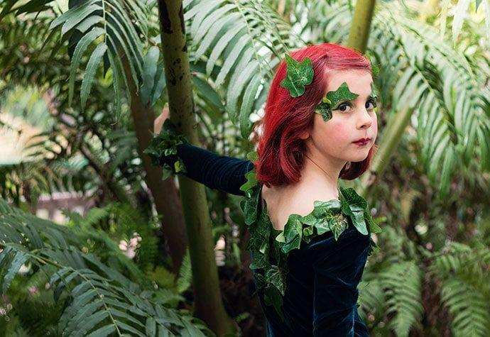 """<p>Help your little one live of their comic book dreams with this simple DIY. All you need is some stretchy velvet fabric (or a pre-made velvet leotard), green tights, fake ivy, and a touch of glitter.</p><p><strong>Get the tutorial at </strong><a href=""""https://mypoppet.com.au/makes/diy-poison-ivy-cosplay/"""" rel=""""nofollow noopener"""" target=""""_blank"""" data-ylk=""""slk:My Poppet"""" class=""""link rapid-noclick-resp""""><strong>My Poppet</strong></a><strong>. </strong></p><p><a class=""""link rapid-noclick-resp"""" href=""""https://www.amazon.com/Krylon-I00405-Glitter-Aerosol-Multi-Color/dp/B00397XQ02/ref=asc_df_B00397XQ02/?tag=syn-yahoo-20&ascsubtag=%5Bartid%7C10050.g.29402429%5Bsrc%7Cyahoo-us"""" rel=""""nofollow noopener"""" target=""""_blank"""" data-ylk=""""slk:SHOP GLITTER SPRAY""""><strong>SHOP GLITTER SPRAY</strong></a></p>"""