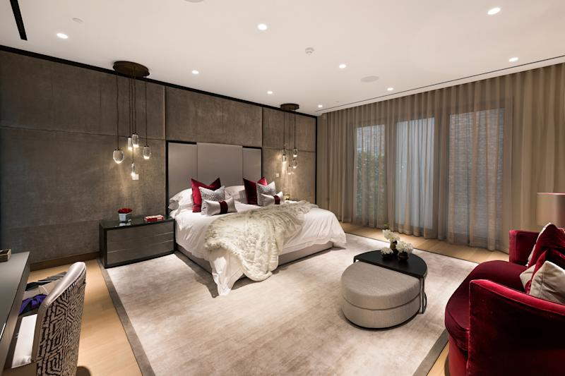 One of the main bedroom suites. Photo: Alex Lawrie/LC