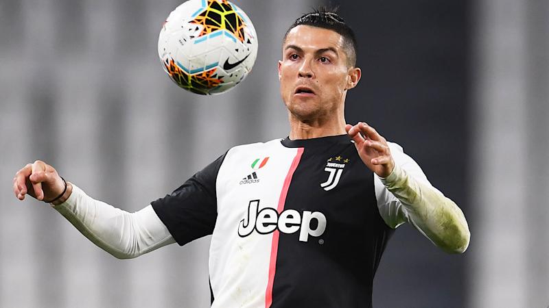 Cristiano Ronaldo, pictured here in action for Juventus.