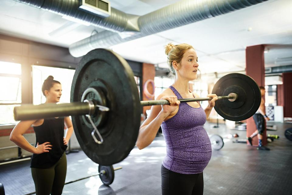 There are plenty of myths surrounding working out while pregnant [Photo: Getty]
