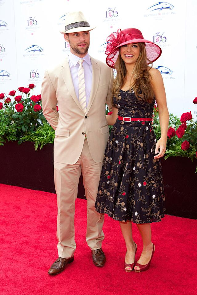 "Sexy ""House"" star Jesse Spencer and his date, ""All My Children's"" Chrishell Stause, looked ravishing in their retro suit and dress. Michael Hickey/<a href=""http://www.filmmagic.com/"" target=""new"">FilmMagic.com</a> - May 1, 2010"