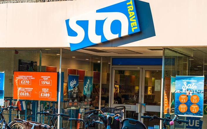 STA Travel was founded in 1971 - Getty