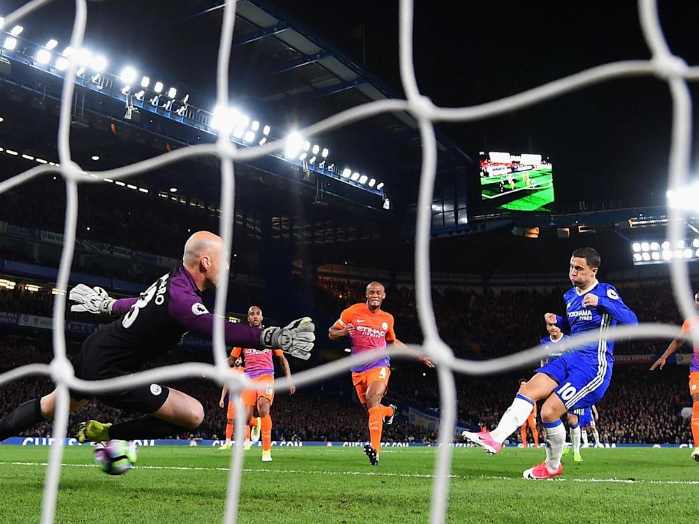 Eden Hazard scored twice to earn Chelsea a valuable win: Getty
