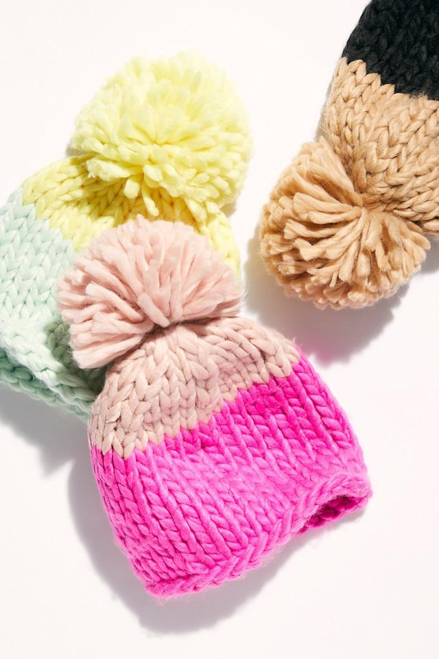 "<p>Chilly days require this <a href=""https://www.popsugar.com/buy/Cozy-Up-Color-Block-Pom-Beanie-522570?p_name=Cozy%20Up%20Color%20Block%20Pom%20Beanie&retailer=freepeople.com&pid=522570&price=48&evar1=savvy%3Aus&evar9=45472903&evar98=https%3A%2F%2Fwww.popsugar.com%2Fsmart-living%2Fphoto-gallery%2F45472903%2Fimage%2F46937735%2FCozy-Up-Color-Block-Pom-Beanie&list1=gifts%2Choliday%2Cstocking%20stuffers%2Cgift%20guide%2Cgifts%20under%20%24100%2Cgifts%20under%20%2450%2Cgifts%20under%20%2475&prop13=mobile&pdata=1"" rel=""nofollow"" data-shoppable-link=""1"" target=""_blank"" class=""ga-track"" data-ga-category=""Related"" data-ga-label=""https://www.freepeople.com/shop/cozy-up-color-block-pom-beanie/?category=gifts-under-50&amp;color=066"" data-ga-action=""In-Line Links"">Cozy Up Color Block Pom Beanie</a> ($48).</p>"