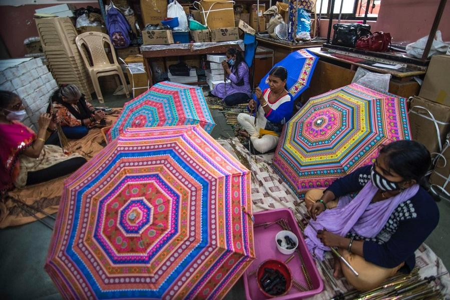 Social Media has helped create awareness about Nethra umbrellas.This year too they have received orders for nearly 25000 umbrellas out of the available inventory of 50.000 umbrellas