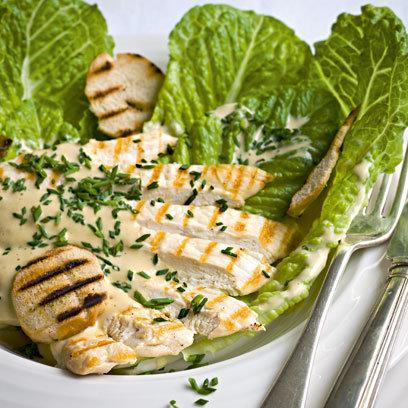 Chicken and Chive Caesar Salad: Recipes: Food