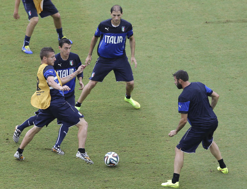 Italy adds Immobile for decisive game vs. Uruguay