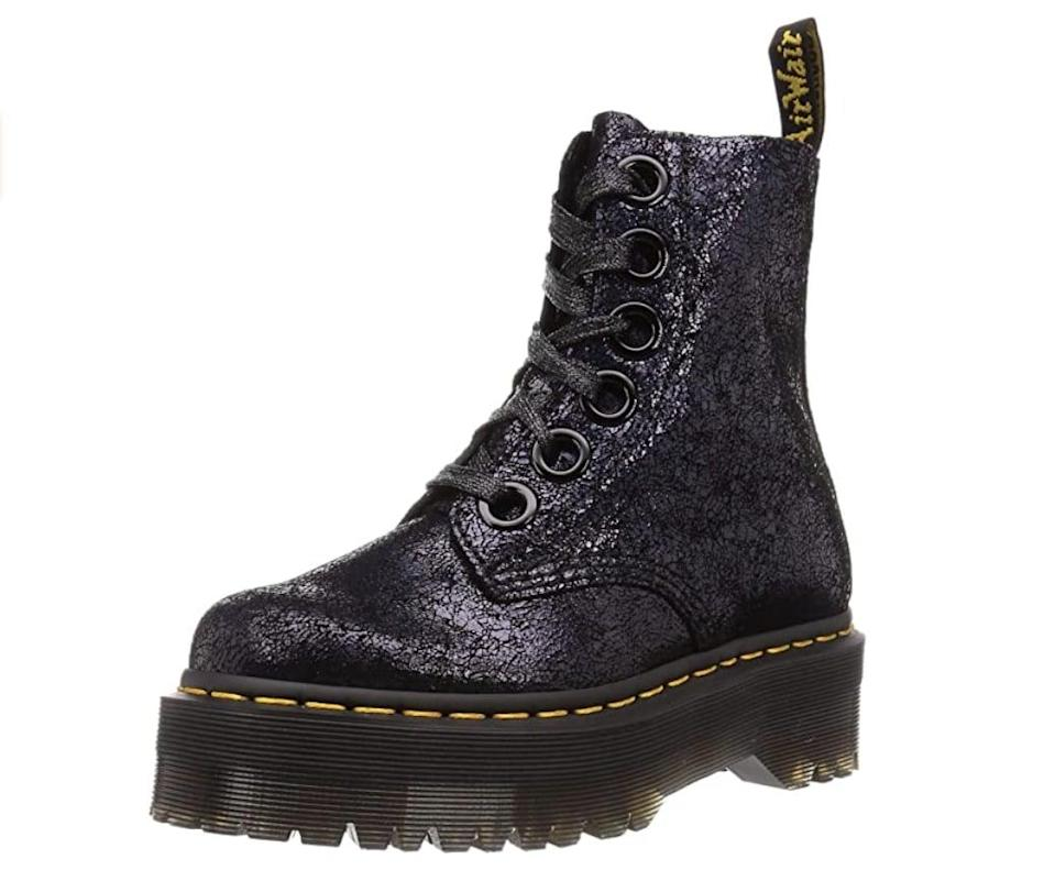 <p>These <span>Dr. Martens Women's Molly Boots</span> ($163 - $236) are so cool, you might snag a pair for yourself too.</p>