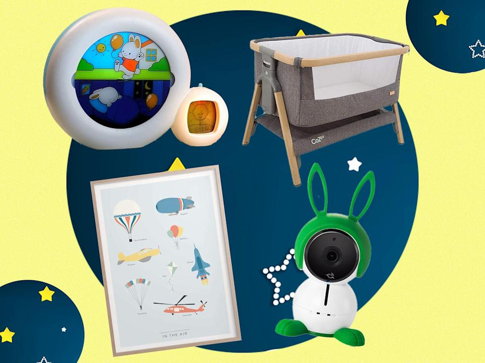 <p>Stylish beds, cute night lights and decorative storage can help a nursery interior be both functional and great looking</p> (iStock/The Independent)